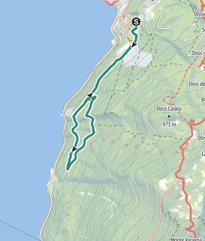 Map / Busatte – Tempesta Trail, a classic of Garda Trentino