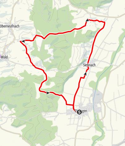 Karte / Wallfahrtsrunde Ettringen