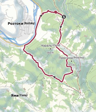 מפה / Vyzhnytsya