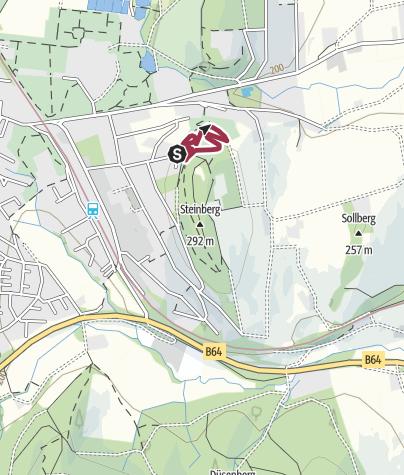 Karte / Rundweg durch das Arboretum Bad Driburg