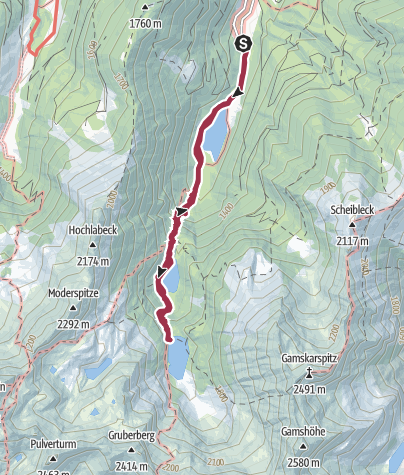 Map / 3 Lakes Tour: Bodensee, Hüttensee and Obersee