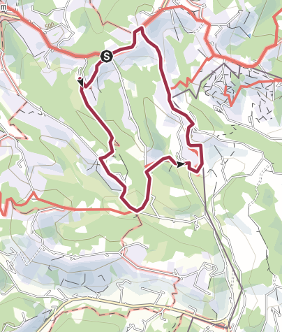 Karte / Kulinarische Weinberg-Wanderung in Glanz