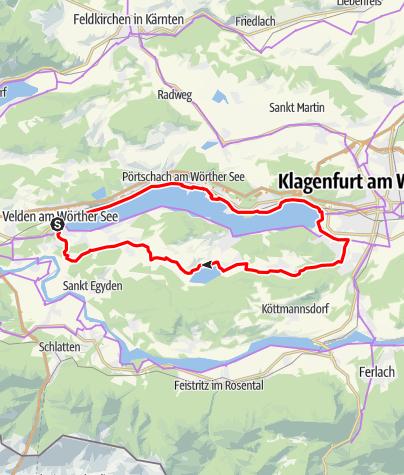 Karte / Wörthersee - Keutschacher Seental