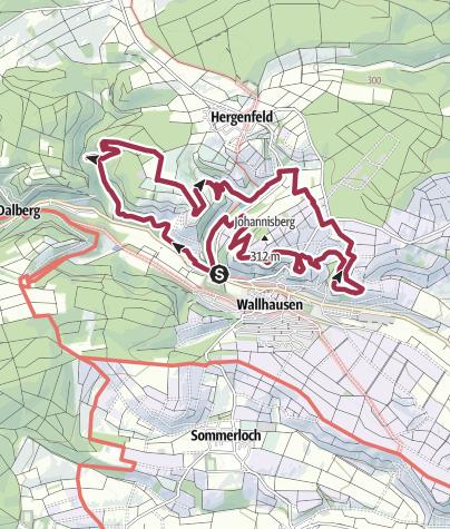 Karte / Vitaltour Stein, Wein & Farbe