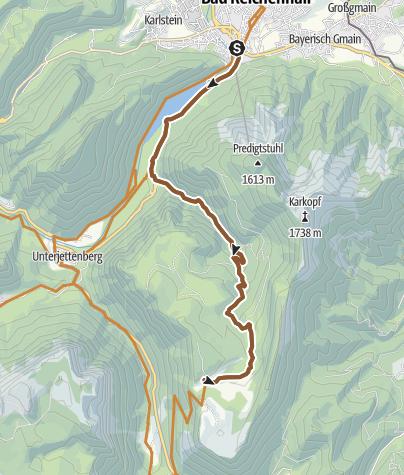 Karte / MTB: 16 - Moosenalm