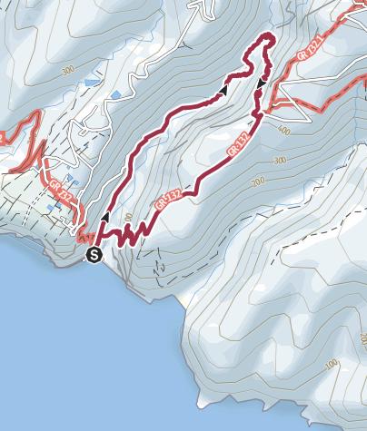 Mapa / De La Rajita a Arguayoda