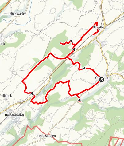 Karte / Im Leiblachtal: Durchs Degermoos zum Stockenweiler Weiher - Westallgäuer Wasserweg 25