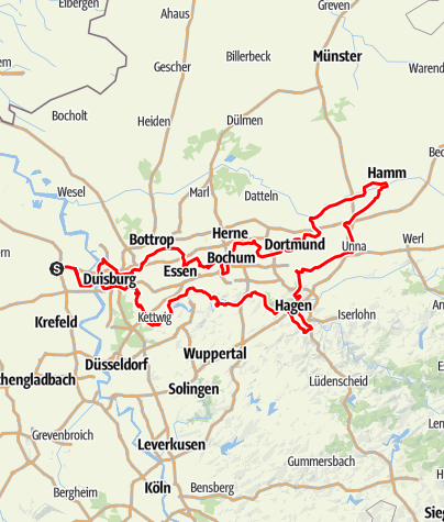 Map / Route der Industriekultur