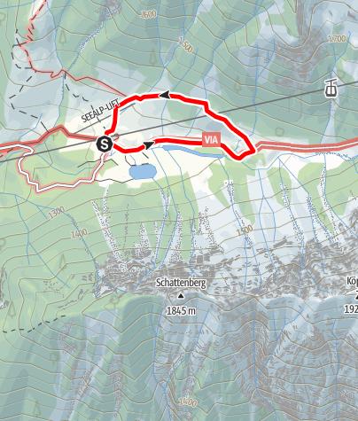 """Karte / Uff d`r Alp"""""""