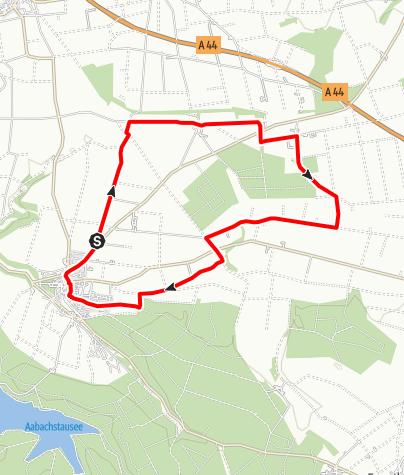 Karte / Bad Wünnenberg Radtour WÜ 4
