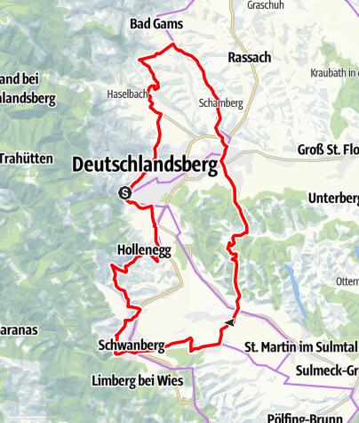 Karte / Schilcher Tour Süd