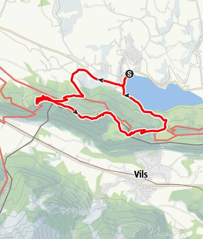 Karte / Zirmgrat-Runde
