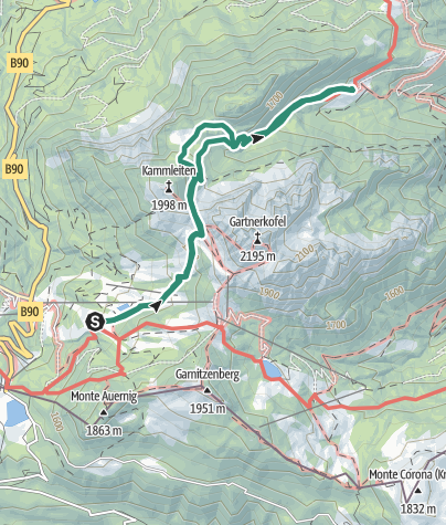 Karte / Tröger Tour