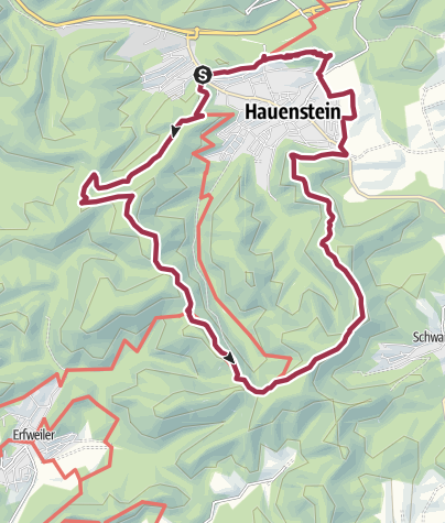 Carte / Hauensteiner Schusterpfad