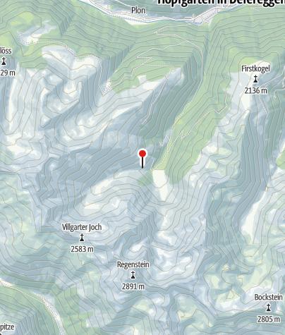 Karte / Bloshütte