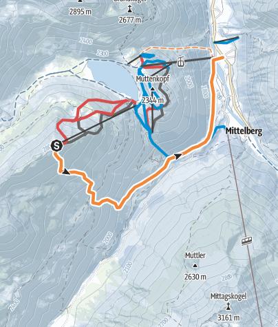 Pitztal Karte.Pitztal Grubenkar Ski Freeride Outdooractive Com