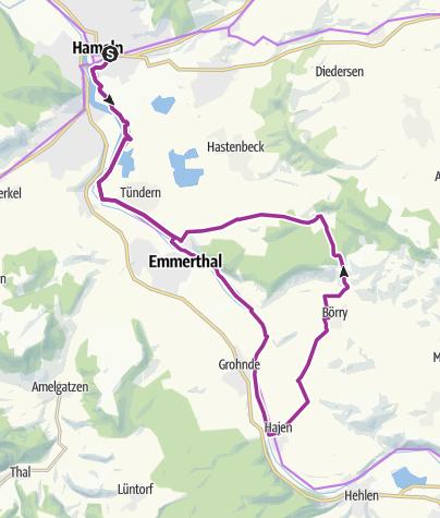 Karte / BauernLand Weser