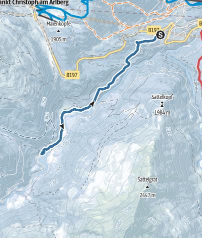 Mappa / Sankt Anton - VerWallSee