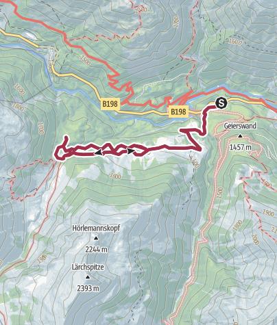 Karte / Gamsvroni