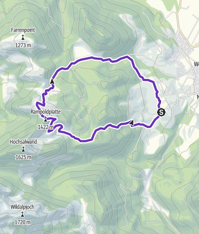 Karte / Zum Enzian