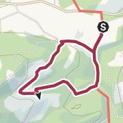 Kartta / Zum Waldspielplatz im Großen Wald