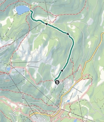 Carte / Wanderung zum Lago delle Malghette