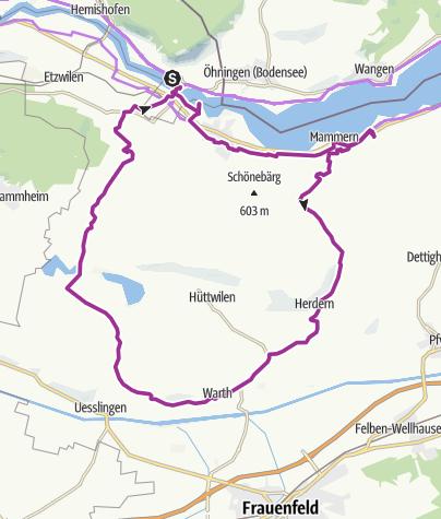Map / Garten-Rendezvous Thurgauer Seerücken