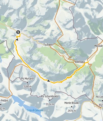 Map / Val Mora – Ein Gefühl der kanadischen Wildnis.