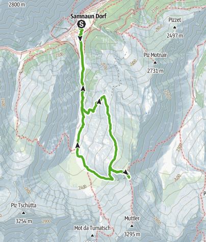 Karte / Rotes Seeli