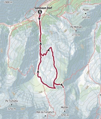 Map / Rotes Seeli