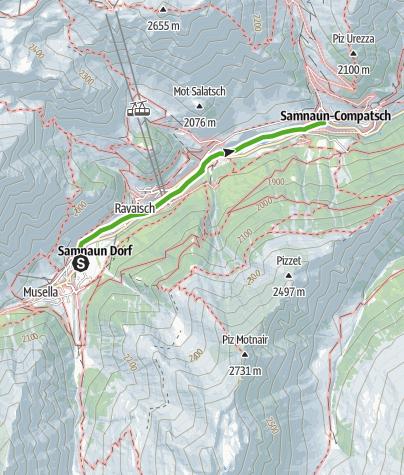 Map / Talwanderweg dem Schergenbach entlang