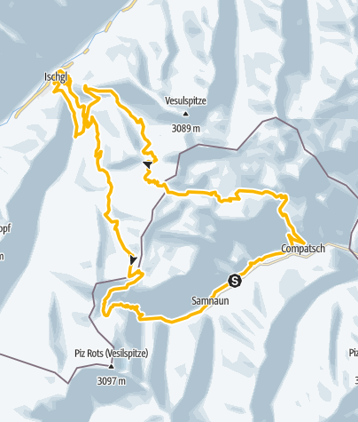 Map / Ironbike Ischgl