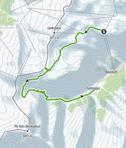 Karte / Gipslöcher