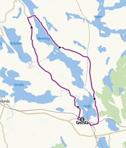 Map / Klemmingen Runt