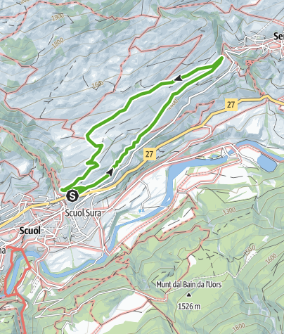 Map / Runde um Chauennas