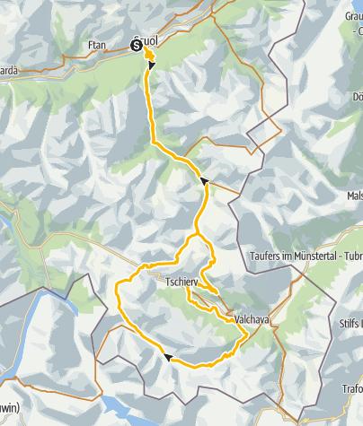 Map / S-charl Val Mora