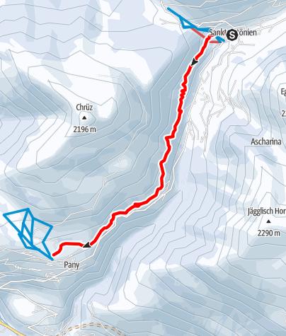 Map / Rundtour Bodähütte (markierter Trail Nr. 14)