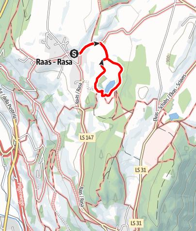 Karte / Von Raas zum Raiermoos