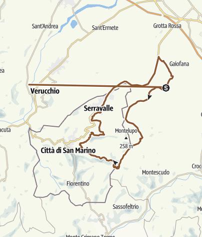 地图 / Track 25 ott 2018, 15:43