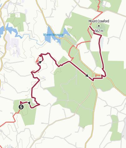 Carte / 16 Mewett-Rd-to-Mt-Crawford-waypoints