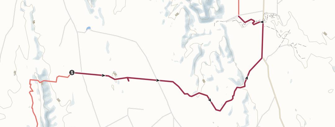 Kart / 25 Burra-Road-to-Worlds-End-waypoints