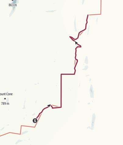 Carte / 28 Wandallah-to-Newikie-Creek-waypoints