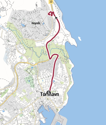 Map / Route from Track Jun 13, 2018 at 07:56