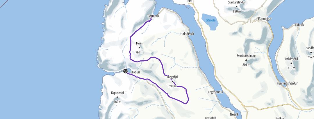 Map / Mountain Half Marathon 2019
