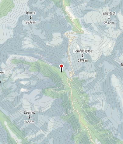 Karte / Kreuzer JH. 1385m