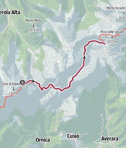 Map / Dag 3 Orobie Bernigni San Marco