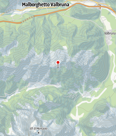 Karte / Biv. Alpini Gemona