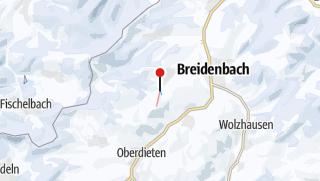 Map / Kleingladenbach