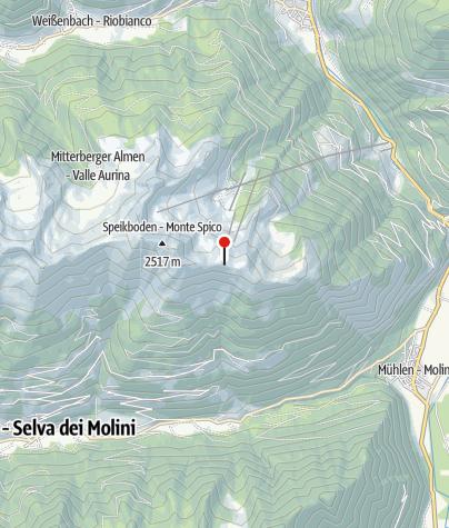 Map / Sonnklarhütte