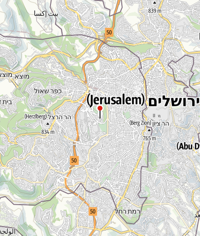 מפה / משכן הכנסת